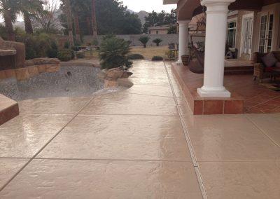 smooth concrete