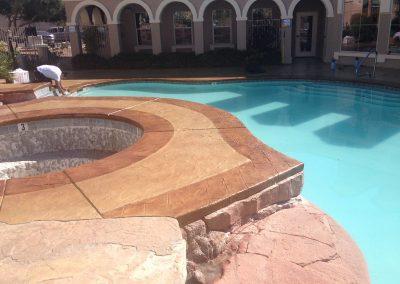Apartments pool deck 4
