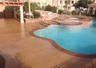 Apartments pool deck