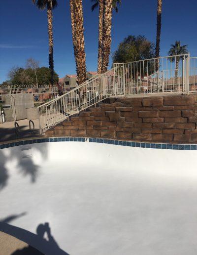 pool bottom
